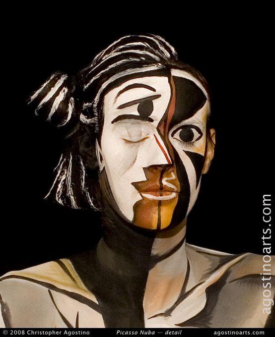 Amazing Picasso Make up