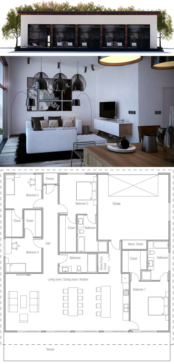 Stupendous 17 Best Ideas About Small House Layout On Pinterest Small House Largest Home Design Picture Inspirations Pitcheantrous