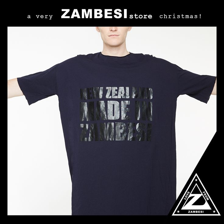"""""""a must have for me over the summer attending music festivals- the perfect throw on tee!! also a good wee xmas stocking filler!!"""" - luke, ZAMBESI wellington #zamfam the #zambesi statement tee re-cut is available instore x #lukeymagic"""