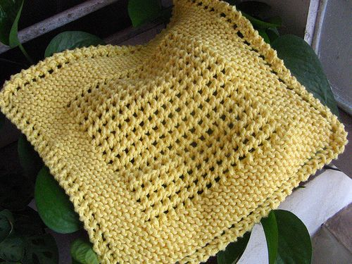 Cotton Dishcloths Knitting Patterns : Best 25+ Knitted dishcloths ideas on Pinterest