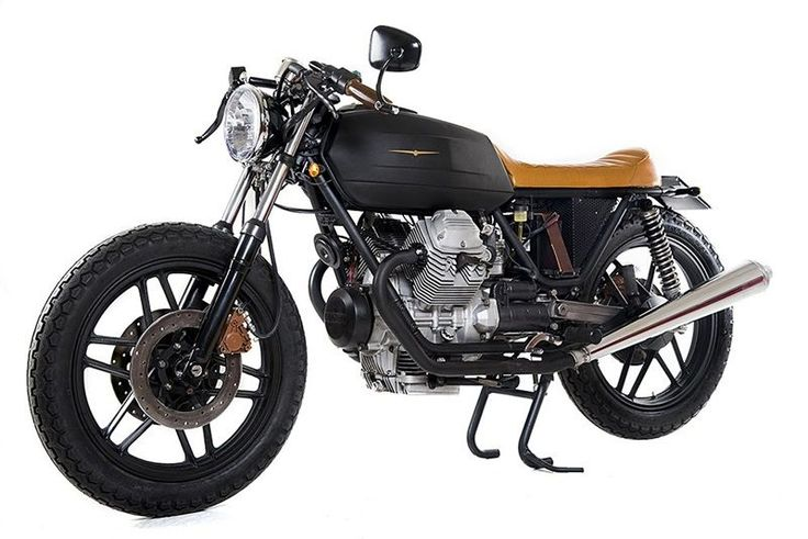 Moto Guzzi V35 Black Boot Specifications and Pictures