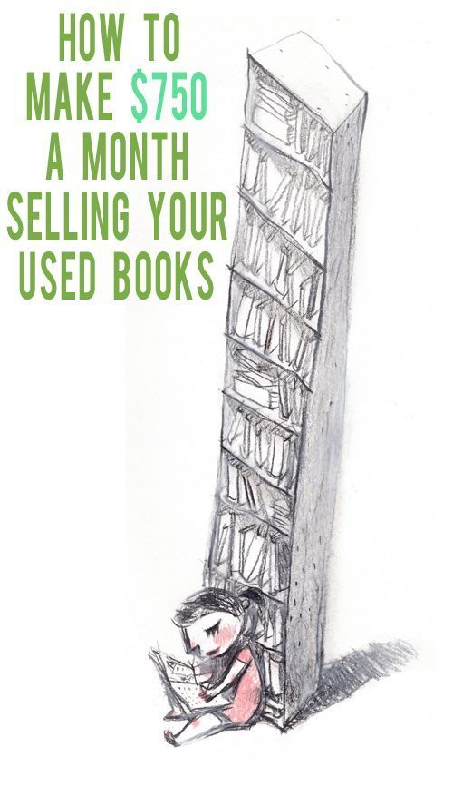 Put money in your pocket with this side hustle and learn how to make money selling used books!