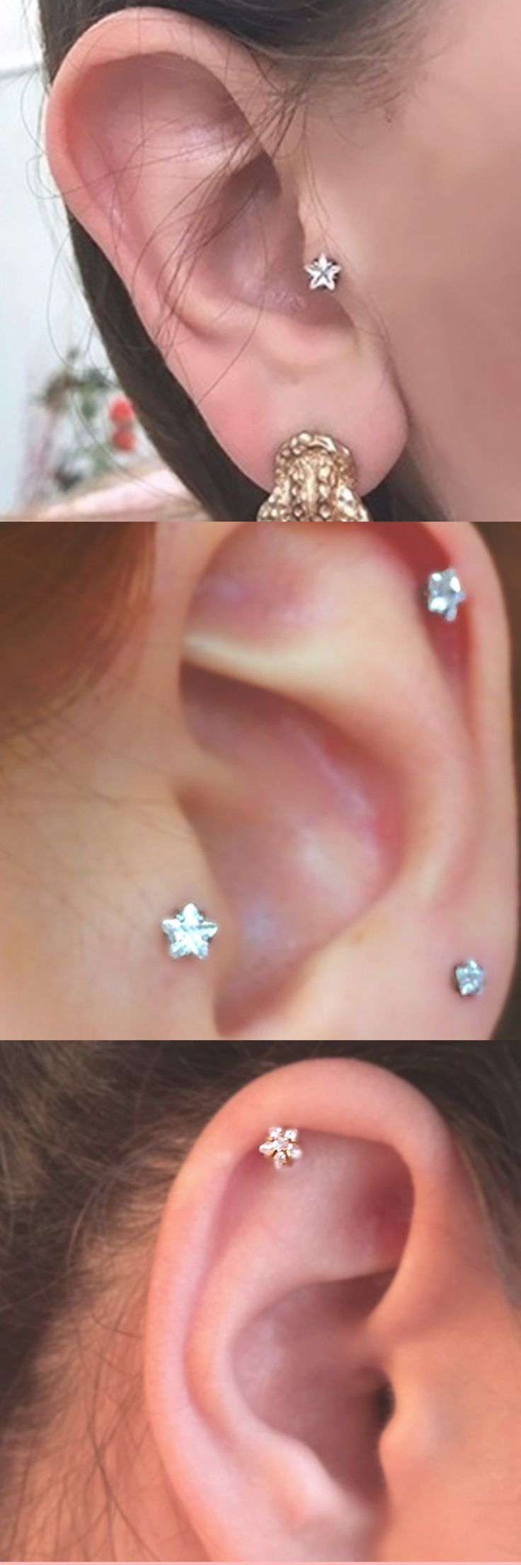 best 25+ cute cartilage piercing ideas on pinterest | cartilage