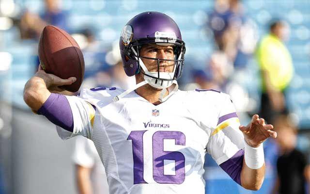 Matt Cassel to start for Vikings Sunday vs. Steelers