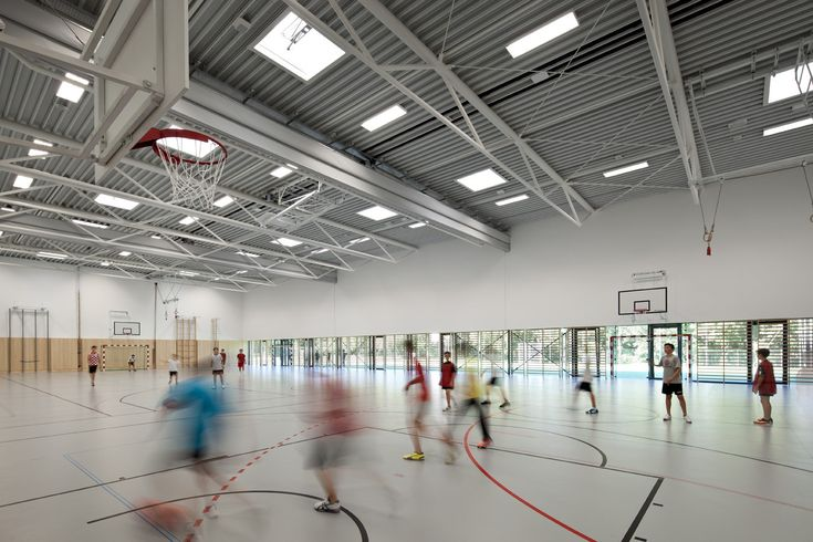 Bundesgymnasium Gainfarn - Bad Vöslau / Franz Architekten