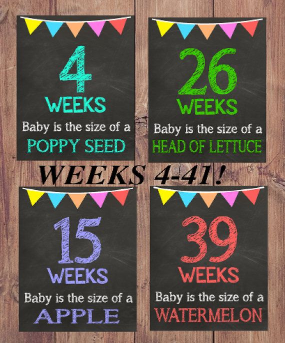 Weeks of Pregnancy Chalkboard Signs Weekly Pregnancy Sign Pregnancy Photo Prop by ItsALoveStoryDesign