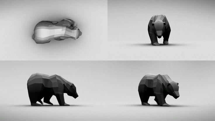 Bear Walk Cycle on Vimeo