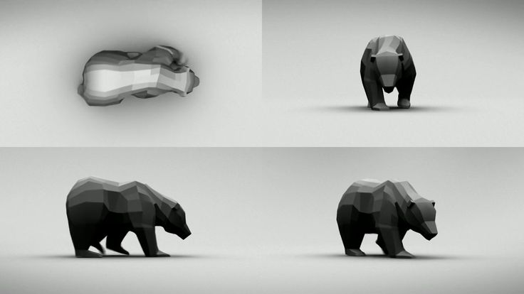 Bear Walk Cycle on Vimeo