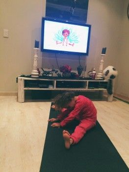 Yoga For Kids With The Magic Mat Book & DVD {Review & Giveaway}