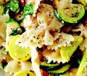 yummy summer twist on pasta salad