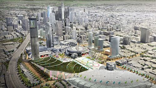 Los Angeles is just about to become the US's official bid city for the 2024 Olympics; following an agreement with the US Olympic Committee made last week, the LA...