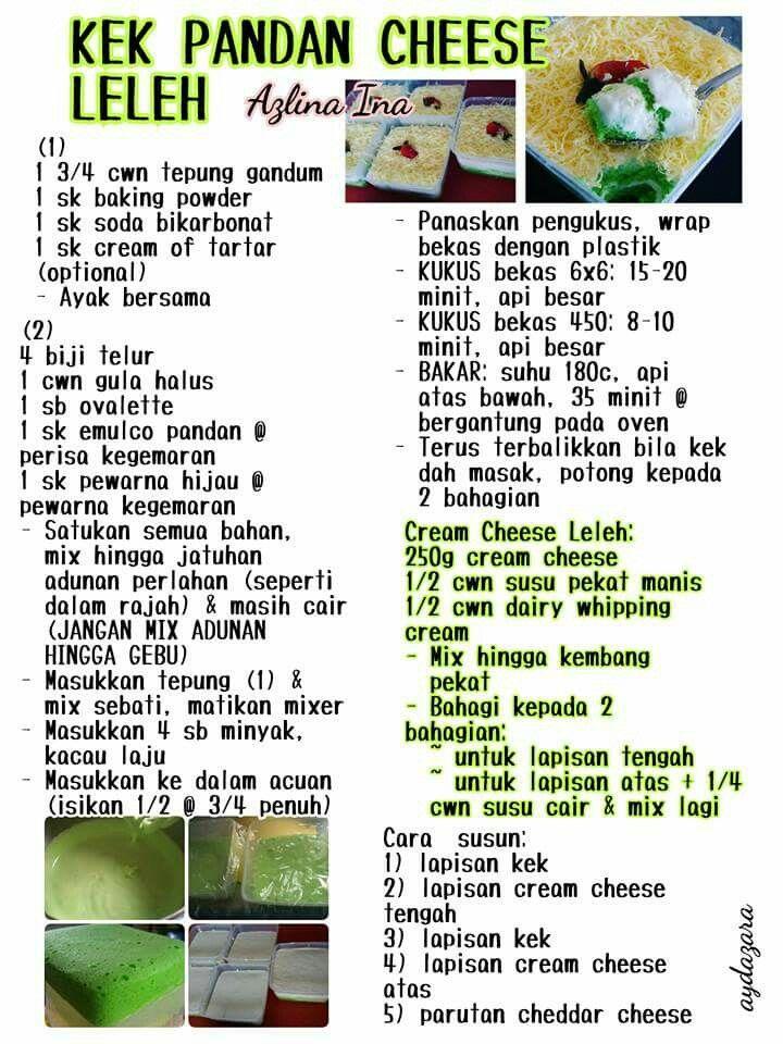 recipe: resepi kek mango cheese leleh [34]