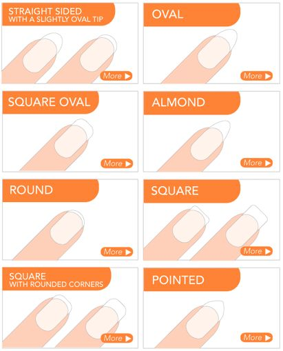 Nail Shapes & At-Home Manicure Tips