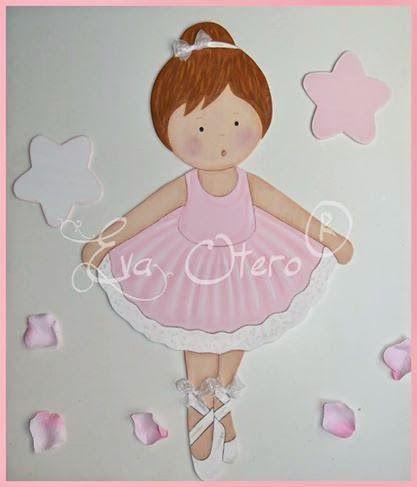 EVA OTERO SILUETAS: Siluetas para niña