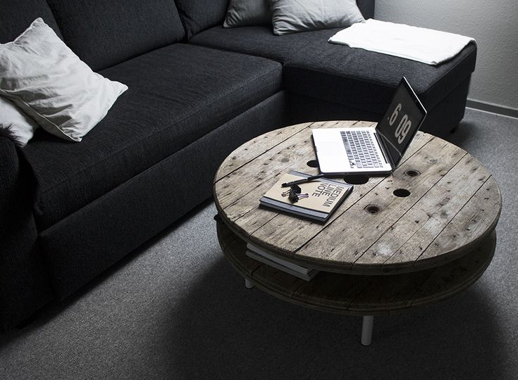 DIY cable drum roller table