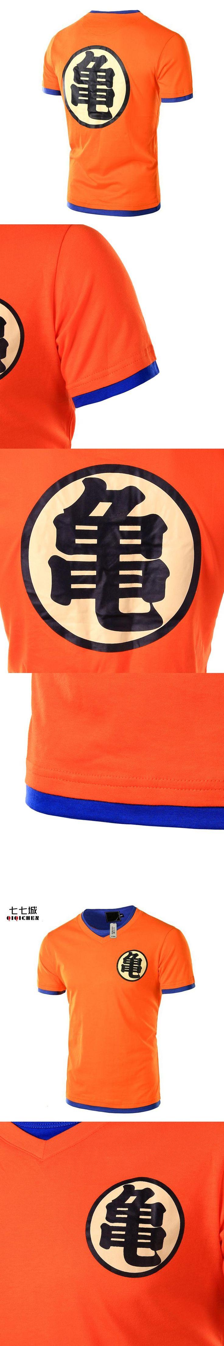 T Shirt Cosplay Men 2017 New Arrival Fashion Dragon Ball Design  Quality Fun T-Shirt Men Tshirt Homme XXL