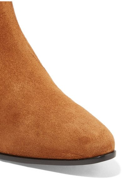 Saint Laurent - Rock Suede Chelsea Boots - Tan - IT37.5