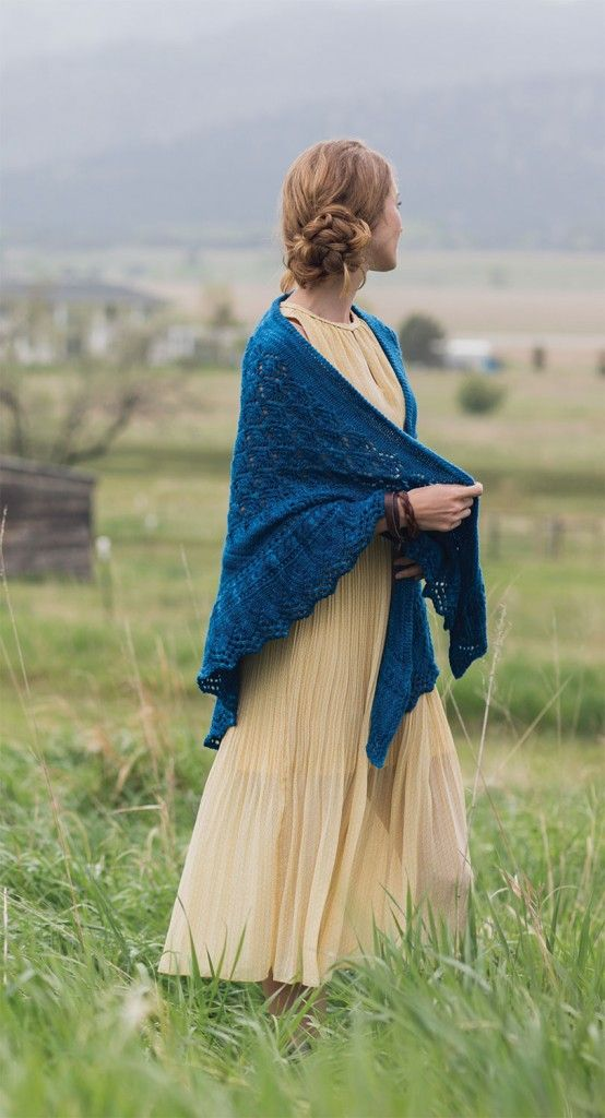 Squall Line Shawl, Rosemary (Romi) Hill, Knits Fall 2015