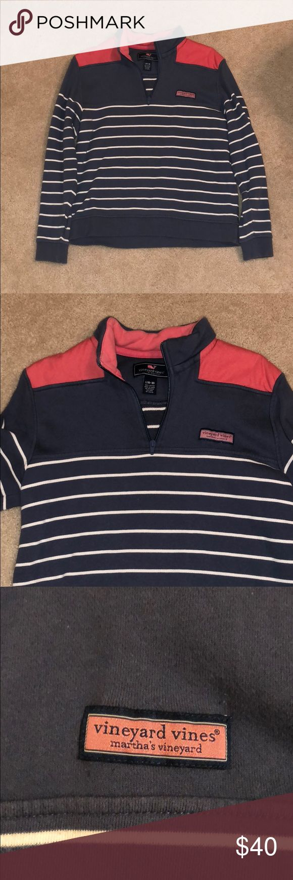 Vineyard Vine Shep Shirt Only worn a few times. Great condition. Bought at Martha's Vineyard Location in Edgartown. Kids L (16-18). Fits Adults who fit in S or M. Vineyard Vines Sweaters V-Necks