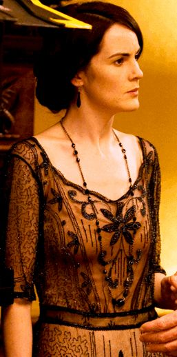 The Lady Mary long black necklace
