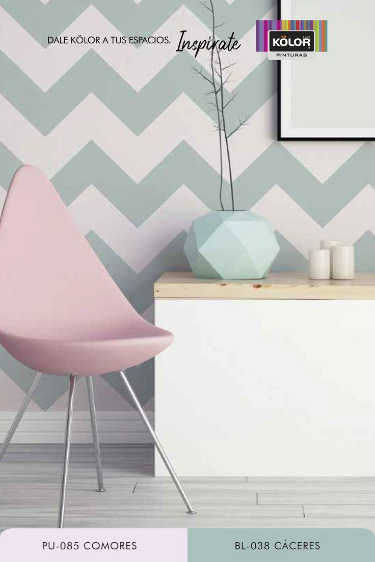 Si te encanta el estampado chevron, este stencil es ideal para que lo uses en tus paredes o decores objetos, logrando un diseño divertido y moderno. Descargá la plantilla para generar tu propio stencil y encontrá muchas más combinaciones de color. Descubrí las Pinturas Kölor y elegí entre más de 1.500 colores. Chevron, Hands, Ideas, Home Decor, Paint Colors, Color Coordination, Funny Design, Girl Room Decor, Template