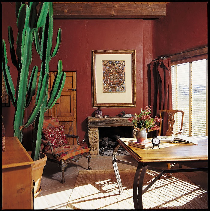 Rustic Red Mexican Home Interiors Pinterest Tucson Arizona And
