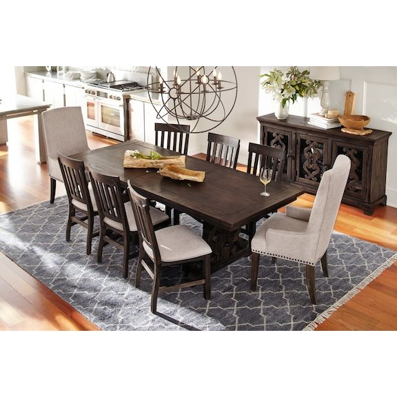 Charthouse Rectangular Dining Table And 6 Dining Chairs Dining