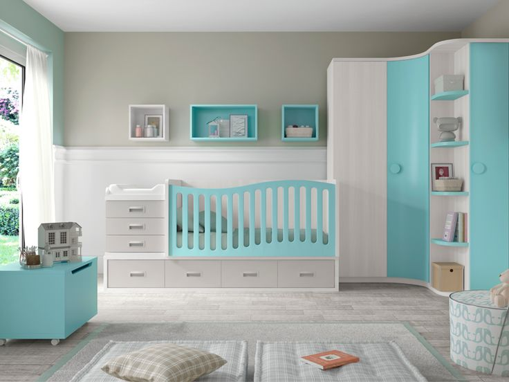 17 mejores ideas sobre cama cunas para bebes en pinterest for Cuartos para ninas simples