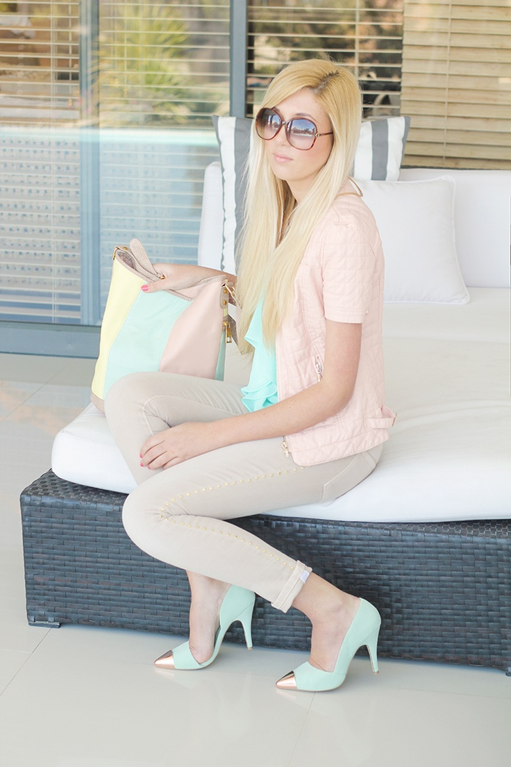 Pastel outfit fashion