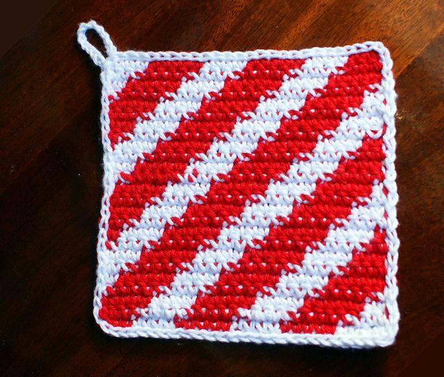 189 besten Crochet Pot Holders Bilder auf Pinterest | Topflappen ...