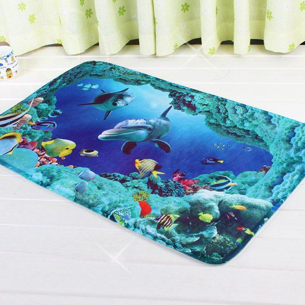 SHARE & Get it FREE | Sea World Antislip Bathroom Kitchen Door Entrance CarpetFor Fashion Lovers only:80,000+ Items • New Arrivals Daily • Affordable Casual to Chic for Every Occasion Join Sammydress: Get YOUR $50 NOW!