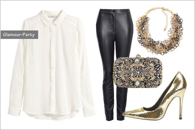 Coole Styles mit weißer Bluse - die Infos findet ihr hier: http://www.gofeminin.de/styling-tipps/kleidung-kombinieren-s1134823.html