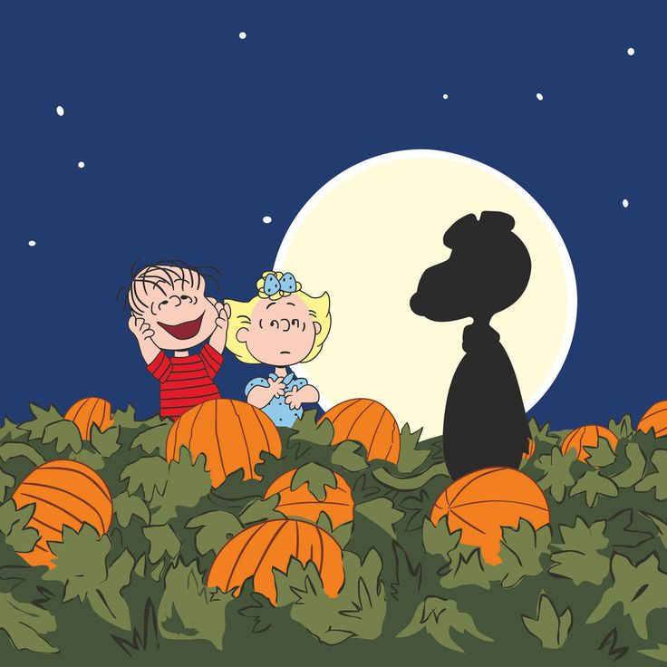 peanuts pumpkin patch - Charlie Brown Halloween Cartoon