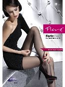 Tights with improved durability, produced with the innovative LYCRA®Fusion fibre that increases resistance against runs.  Fibre content: 62% Polyamide, 37% Elastane, 1% Cotton (small gusset)