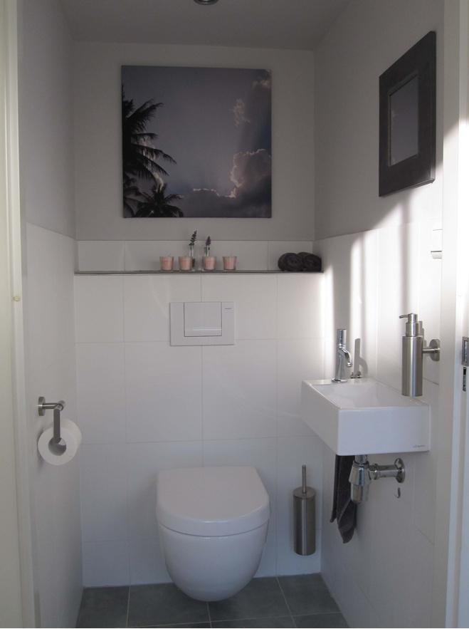 Mooi strak ruim toilet