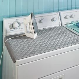 Love this! An ironing board that doesn't take up an inch of space.