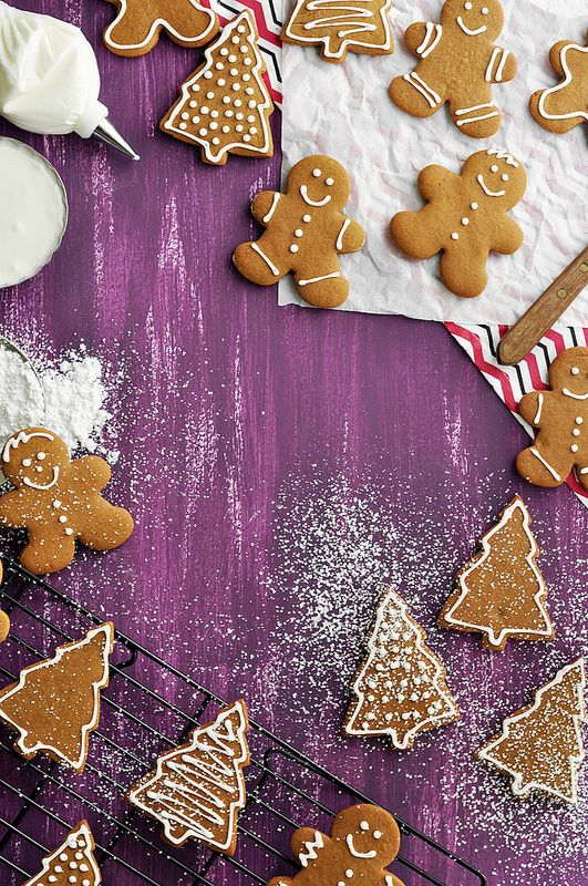 Gingerbread Cookies - The Candid Appetite