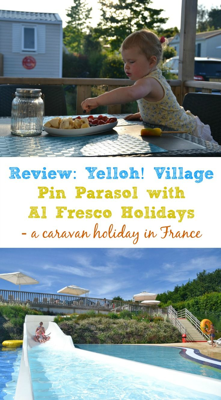 We were invited to experience a caravan holiday in France with Al Fresco Holidays. Here's our review of Yelloh! Village Pin Parasol campsite in Vendee