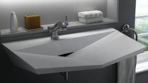Selecting Modern Bathroom Fixtures, Modern Bathroom Sinks in Surprising Shapes