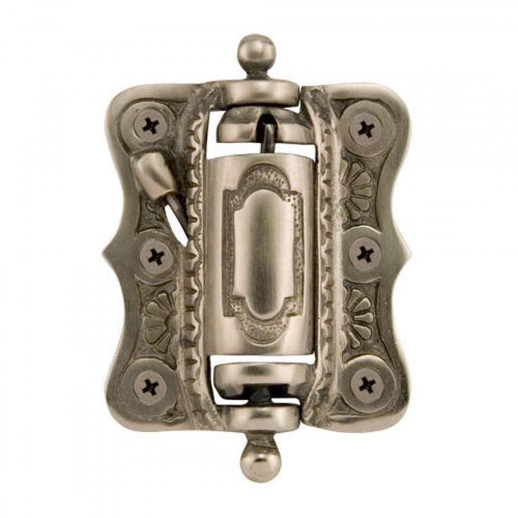 Solid Brass Self-Closing Victorian Screen Door Hinge