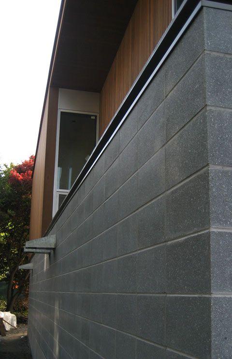 Concrete Block Veneer Rainscreen Assembly Tomas