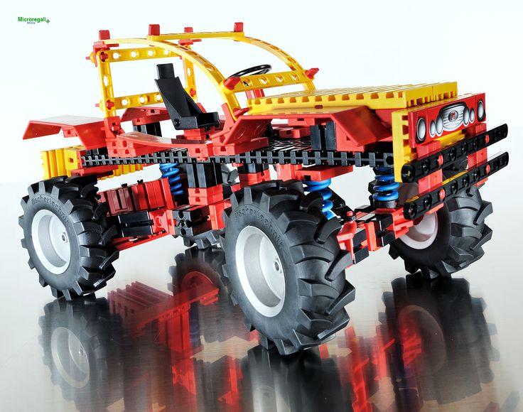 fischertechnik 516184 set costruzione Car & Drivers 8 modelli eta' 8 anni