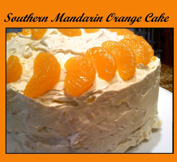 Southern Mandarin Orange Cake on MyRecipeMagic.com -Save this one, you'll come back and thank me for it, I promise!!  *Please like and repin to share with your friends.*
