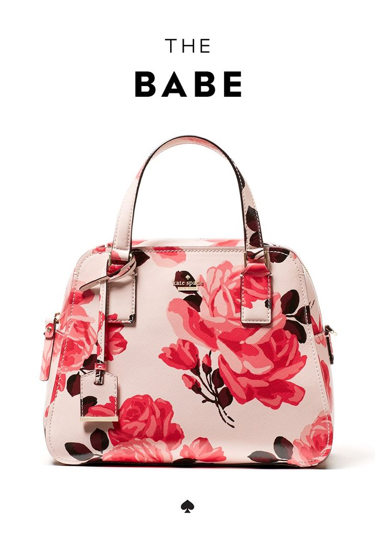 the kate spade new york cameron street roses little babe: our spring addition to cameron street is sleek, feminine and shapely--a total head-turner. it's also lightweight, scratchproof and wipes clean. swoon.