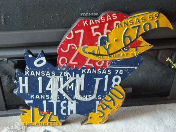 Kansas Jayhawk by ZssArt on Etsy