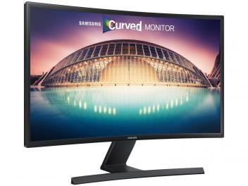 "Monitor Samsung LED Curvo 27"" Full HD Widescreen - LS27E510CSMZ"