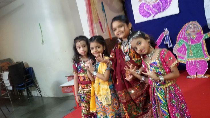 Girls ...beautifully ... dressed up for Garba..  #Beautiful #Garba