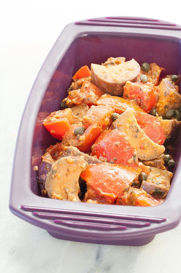 Greek Inspired Ratatouille #vegetarian #meatlessmonday