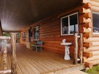 Turn the exterior of your mobile home into the exterior of a cedar log cabin.  So cute!!   Modulog.com