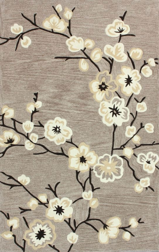 Rugs USA Keno Cherry Blossom Oatmeal Rug. 4th of July Sale! Pick from 1 of 2 promotions to save today!  Area rug, carpet, design, style, home decor, interior, design, pattern, trend, statement, summer, cozy, sale, handmade, sale, discount, free shipping.